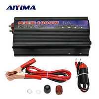 AIYIMA 1000 W Pur Onde sinusoïdale Onduleur DC12V/24 V À AC220V 50 HZ convertisseur d'alimentation Booster Pour onduleur de voiture Ménage bricolage
