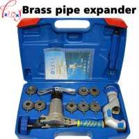 Kit de herramientas de refrigeración para tubos de cobre excéntricos de una pieza expansor de tubos de latón WK-519FT-L
