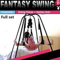 Toughage Sexual equilibrio amor swing elasticidad + marco peso sexo swing sillas para adultos sexo muebles juguetes para parejas