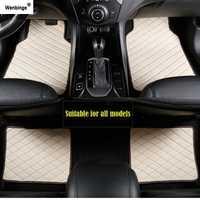 Wenbinge alfombra del coche para bmw f10 x5 e70 e53 x4 f11 x3 e83 x1 f48 e90 x6 e71 f34 e70 e30 impermeable accesorios para la alfombra del coche