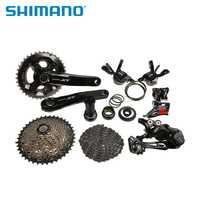 SHIMANO Deore XT M8000 6 unids grupo M8025 convencionales 2x11 s desviador M8000 GS desviador trasero MTB bicicleta piezas de bicicleta