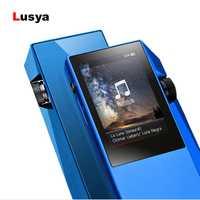Pantalla táctil HD M1 MP3 reproductor de música DSD HIFI sin pérdidas coche MP3 reproductor de Audio AK4490EN decodificador TPA6130A2 Dual amplificador de auriculares