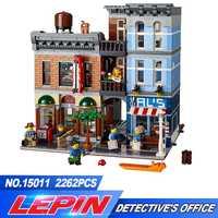 Educativos creador de la serie La Oficina del Detective de Los Vengadores de ensamblar bloques de construcción de juguetes para los niños compatible