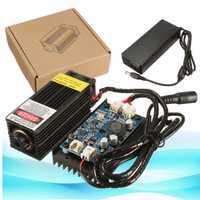 Nuevo 5 W/10 W/15 W/17 W Módulo de grabado de cabezal láser 450nm grabador de luz azul con modulación TTL marcado de Metal de diodo DIY