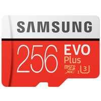 Samsung tarjeta de memoria Micro SD 256 GB SDHC SDXC grado Evo + Evo Clase 10 C10 UHS TF trans flash microSD envío libre
