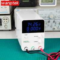 Wanptek ajustable laboratorio de Digital de regulador de voltaje de fuente de alimentación DC 30 V/60 V 5A/10A de salida