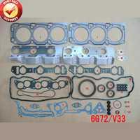 Kit completo de juego de juntas del motor 6G72 V33 para Mitsubishi Montero/Sigma/Debonair 3.0L 2972cc 1988-1997 50122500 MD997436