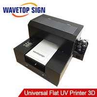 Plano Universal impresora UV pequeña 3D patrón en relieve de la cáscara del teléfono móvil de la impresora de la foto de equipos de producción de acrílico hoja