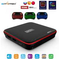 MECOOL M8S PRO W Android 7,1 TV Box Smart TV Box Amlogic S905W 4 K H.265 2 GB 16 GB Set Top Box Normal o Control de voz opcional