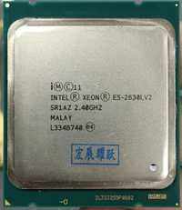 Procesador Intel Xeon E5 2630L V2 CPU 2,8 LGA2011 seis servidor central procesador e5-2630L V2 E5-2630LV2