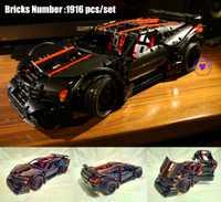 Nuevo MOC técnica serie asesino X19 modelo de auto legoings técnica Racer coche de la ciudad de bloques de construcción ladrillos de juguete regalo De chico