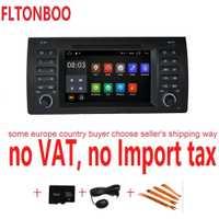 Android 8,1 para bmw E39... X5... M5... E53 dvd del coche gps navegación wifi radio bluetooth volante Canbus libre 8g mapa micrófono pantalla táctil