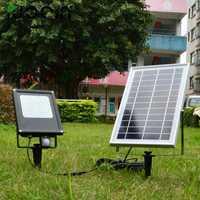 12 piezas lámpara Solar LED jardín luz PIR Sensor de movimiento impermeable IP65 20 W LED Luz de inundación al aire libre lámpara de emergencia reflector Led