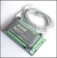 6 eje. Ethernet/mach3/control máquina de grabado/CNC en lugar de USB