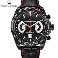 Relojes de cuarzo PAGANI diseño Japón OS20 Movt calendario deportivo para hombre relojes de pulsera impermeables reloj militar reloj masculino