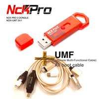 2019 plus récent Original NCK Pro Dongle NCK Pro2 Dongl + MUF tous les câbles de démarrage (NCK DONGLE + UMT DONGLE 2 in1) livraison gratuite
