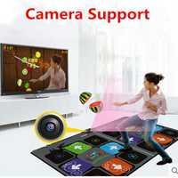 Support de caméra tapis de danse Double tapis pour Tv Usb ordinateur étape jeu tapis Double utilisateur hd 11mm machine de danse tapis de yoga avec deux poignées