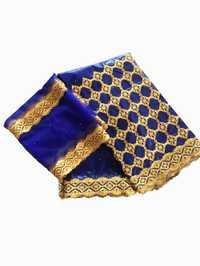 Tela africana de algodón getzner bazin riche telas de brocado bordadas para patchwork 2019 encaje de tul con cuentas set 5 + 2 yardas /lote