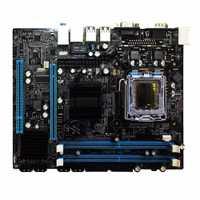 G31 ordenador placa base de doble núcleo 771 Mainboard LGA 775 771/775 Consejo Dual DDR2 VGA alta compatibilidad