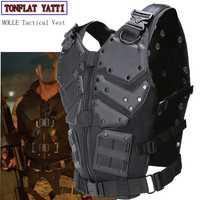 Nuevo chaleco táctico Multi-funcional táctico cuerpo armadura exterior Airsoft Paintball entrenamiento CS protección equipo Molle chalecos