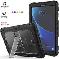 De 10,1 Tablet caso cubierta Tablet Samsung T580 caso impermeable para Samsung Galaxy Tab a 10,1 con correa para el hombro y soporte