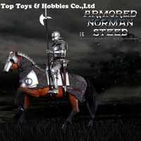SE014 1/6 Aleación de fundición a presión imperio series gótico Caballero blindado caballo de guerra; serie SE012 de imperio gótico juego de caballero escala 1/6