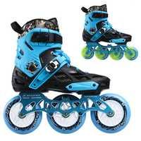 3 ruedas/4 ruedas de patines en línea de Xuanwu de Slalom Skate convertir en línea velocidad patines Base para SEBA