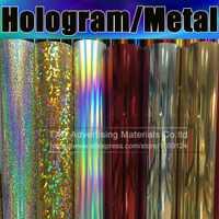 Película de transferencia de calor metálica de alta calidad para camisas, vinilo de transferencia de calor, de transferencia de vinilo película de pu con tamaño: 50 cm * 25 m/roll