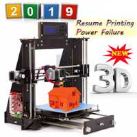 3D impresora Reprap Prusa i3 DIY MK8 LCD falla DE poder reanudar impresora DE impresión DE 3d Drucker impresora DE Stock en Europa