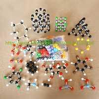 Venta al por mayor Unid 947 PC modelo molecular LZ-23947 juego grande de modelos de moleculas inorgánicas/orgánicas para profesores de Química universitaria