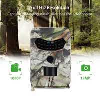 Tensdarcam PR-100 caza 12MP foto trampa 1080 p Video cámaras Trail 940NM visión nocturna impermeable al aire libre IP56