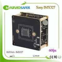 Hi3516A + Sony IMX291 60fps Starlight wifi IP Cámara módulo CCTV POE cámara de seguridad H.265 H.264 MJPEG Onvif/RTSP