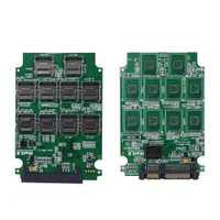 Carte mémoire Micro SD TF 10 emplacements vers adaptateur SATA SSD convertisseur d'extension RAID