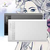 XP-pluma estrella 03 gráficos del dibujo de la tableta con la batería-gratis pasivo pluma lápiz Digital