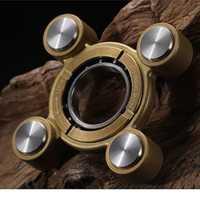 Figotian aire dedo espiral cobre compuesto de acero inoxidable dedo giroscopio EDC