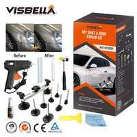 Visbella Kit de herramientas de bricolaje Dent Ding Kit de reparación removedor extractor conjunto de herramientas de mano coche puente herramientas instrumentos