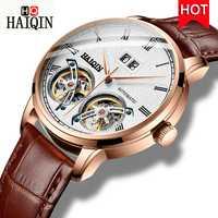 HAIQIN homme montres montre homme haut luxe mode/mécanique/Sports/or/etanche/automatique/affaires/montre homme