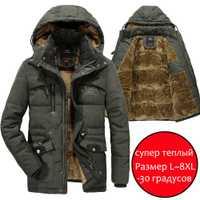 Hommes veste d'hiver 6XL 7XL 8XL épais chaud Parka polaire fourrure à capuche militaire hiver manteaux coupe-vent vestes hommes livraison directe