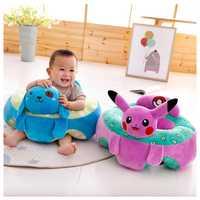 Asiento de apoyo de bebé cojín de coche suave sofá mutilfuncional decoración de bebé sofá SILLA DE taburete asiento de seguridad para niños respaldo