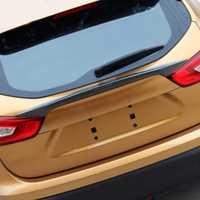 Para 2015-2018 Nissan Qashqai j11 de impresión de transferencia de agua efecto Spoiler trasero tapa maletero portón trasero ajuste escotilla para hornear barniz