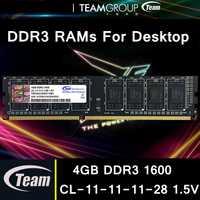 Personas del grupo DDR3 escritorio Memorias RAM 4 GB 8 GB 1600 MHz 240 pines cl 11-11- 11-28 1.5 V alta calidad memoria portátil