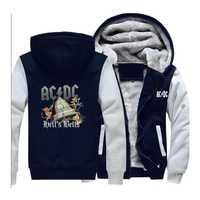 ACDC Hombre Sudaderas Hombre temor de Dios de los hombres top sudadera en negro con capucha hombres manto hip hop streetwear 2018 de moda Sudadera con capucha hombre