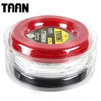 1 carrete grande TAAN TT8800 cuerda de raqueta de tenis Control giro de potencia durable cuerda de tenis de poliéster de 1,20mm
