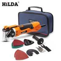 Multifunción sierra eléctrica recortadora oscilante herramienta de renovación del hogar recortadora herramientas de renovador de carpintería