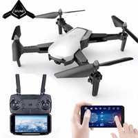 Q21 Cámara Drone con cámara HD Drone de flujo óptico de giroscopio de altitud FPV RC plegable RC helicóptero
