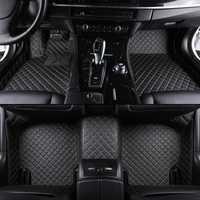 Kalaisike coche personalizado alfombras de piso para BMW modelo X3 X1 X4 X5 X6 Z4 525 520 f30 f10 e46 e90 e60 e39 e84 e83 estilo de coche