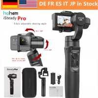 Hohem iSteady Pro 3-Axe stabilisateur de cardan pour GoPro Hero 7 6 5 4 3 Yi 4 K, caméra d'action RXO AEE SJCAM, 3-Axe GoPro Cardan