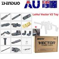 ZhenDuo jouets mag-fed LeHui Vector V2 électrique Gel Ball Blaster jouet pistolet pour enfants en plein air enfants cadeaux