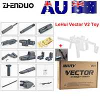 Zhenio juguetes Mag-feed LeHui Vector V2 bola de Gel eléctrica pistola de juguete para niños al aire libre regalos