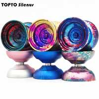 2018 nouvelle arrivée TOPYO Silenus YOYO professionnel yo-yo le dieu de la forêt yoyo métal balle compétition professionnel yoyo